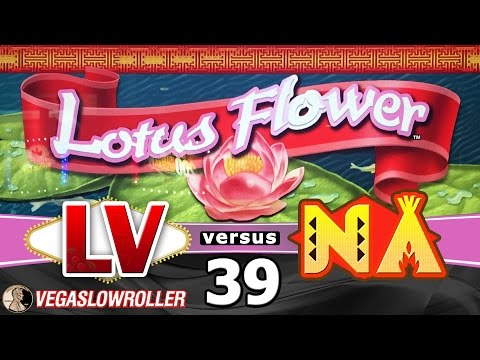 Las Vegas vs Native American Casinos Episode 39: Lotus Flower Slot Machine