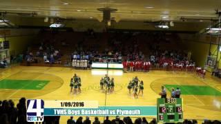 TVHS Boys Basketball vs Plymouth