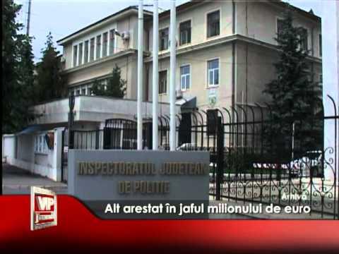 Alt arestat în jaful milionului de euro