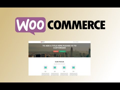 Woocommerce. Video 1. Tema Zerif-lite