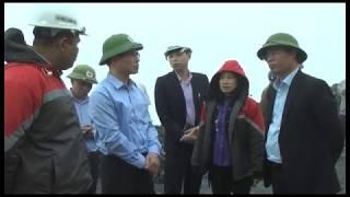 Đồng chí Chủ tịch UBND thành phố Nguyễn Mạnh Hà kiểm tra môi trường tại một số đơn vị sản xuất
