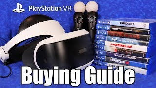 PlayStation VR (PSVR) Buying Guide for 2019 - Hardware & Best 12 Games