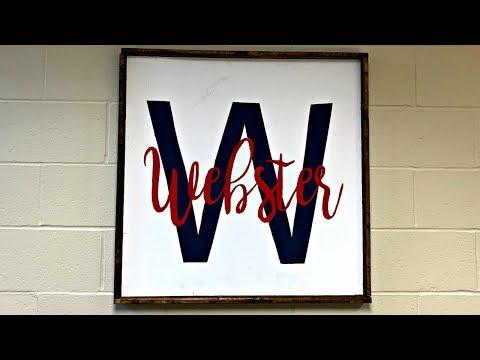 Brandon Schrauth Webster Elementary Welcome