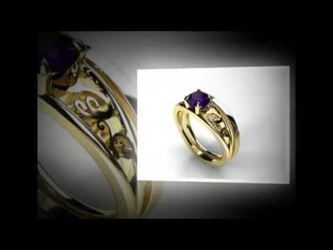 Tanzanite Engagement Rings By Tanzanite HQ