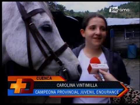 Joven cuencana campeona provincial juvenil de Endurance