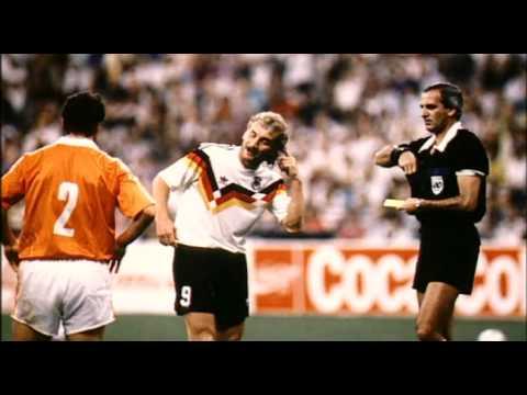 Frank Rijkaard v Rudi Völler