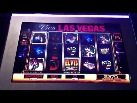 Viva Las Vegas Bonus Elvis the King Slot Machine Free Spins