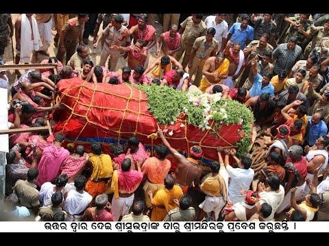 Video Nabakalebara : Devi Subhadra's Daru Entering the Shree Mandir ,Puri download in MP3, 3GP, MP4, WEBM, AVI, FLV January 2017