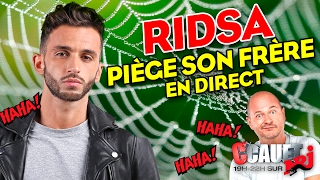Video Ridsa piège son frère en direct - C'Cauet sur NRJ MP3, 3GP, MP4, WEBM, AVI, FLV Mei 2017