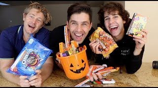 Video HALLOWEEN CANDY MUKBANG! FT DAVID DOBRIK AND JASON NASH MP3, 3GP, MP4, WEBM, AVI, FLV November 2018