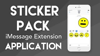 Create a Sticker Pack Application