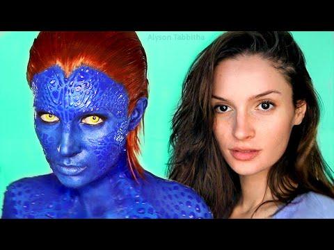Mystique (X-Men) Makeup Transformation