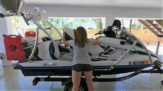 9. HOW TO Setup Rig YAMAHA FXHO WaveRunner for Fishing