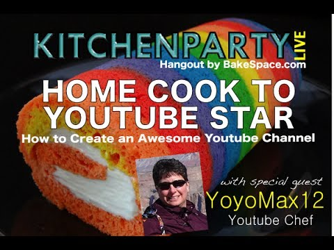 How to Create an Awesome Youtube Channel with Yoyomax12 (Tammy) #KitchenParty Live
