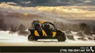 10. 2015 Can-Am Maverick MAX X® rs DPS™ - Yellow & Black  ...