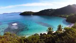 Saint John U.S. Virgin Islands  City pictures : Beautiful St John, Virgin Islands Aerial Tour