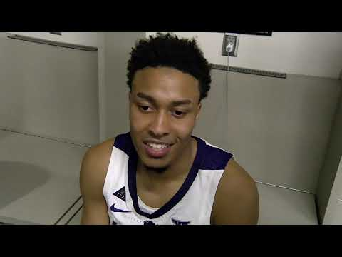 B12 Tournament: Kam Stokes After K-State vs TCU