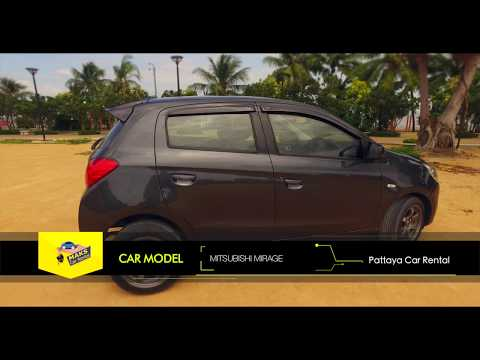 Rent a car Mitsubishi Mirage (2014) Video
