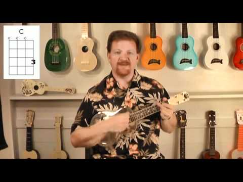 Easy Ukulele for Beginners Lesson 5 Shuffle Strum UkeManFischer