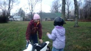 8. boys first time on there christmas gifts PW50 an JR50