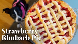 How to Make Strawberry Rhubarb Pie with Olivia and Ori | Chowhound at Home by Chowhound