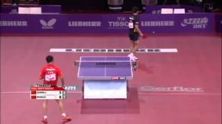 ЧМ по настольному теннису 2013 финал мужчины Zhang Jike - Wang Hao