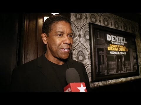 Denzel Washington & the Cast of THE ICEMAN COMETH Prep for Broadway Bow