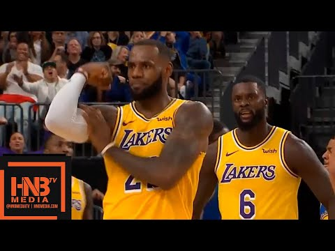 Los Angeles Lakers vs Golden State Warriors 1st Half Highlights | 10.10.2018, NBA Preseason