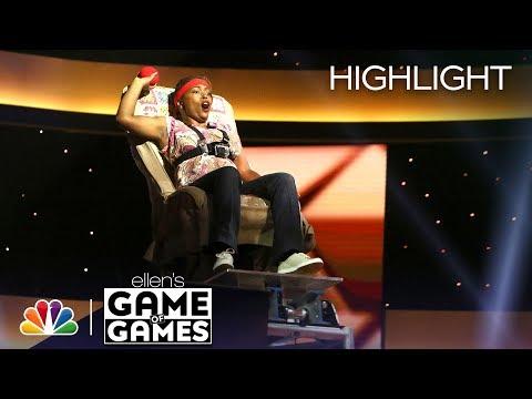 Ellen's Game of Games - In Your Face, Honey: Episode 6 (Highlight)