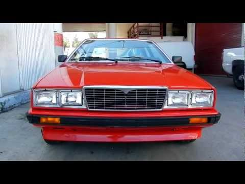 1984 Maserati coupe снимок