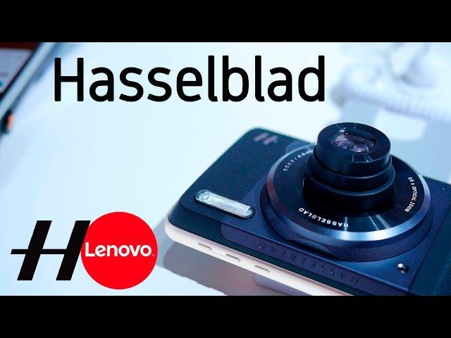 Moto Mod cámara Hasselblad, impresiones en español