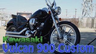 5. Install SuperBrace on Kawasaki Vulcan 900 Custom