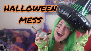 HALLOWEEN THREW UP ON MY YOUTUBE CHANNEL by Joya G