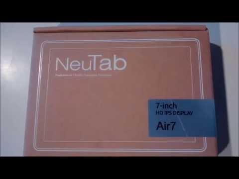 Kilgore Air7 NeuTab 7 inch Quad Core Google Android 5.0 Lollipop Tablet