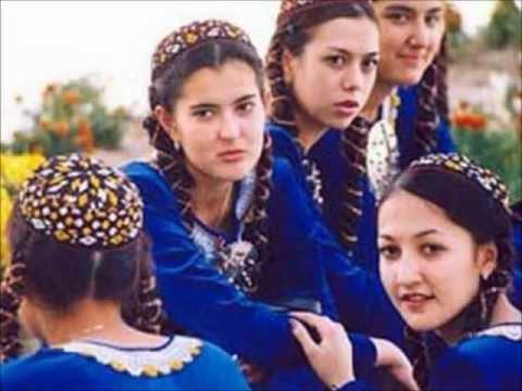 Видео с туркменкой