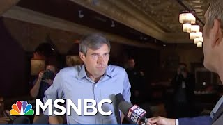 Beto O'Rourke: 'I Will Not Be A Candidate For President In 2020' | Hallie Jackson | MSNBC