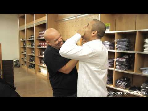 UFC Champion Jose Aldo fitted for his first suit. Most contagious laugh ever!