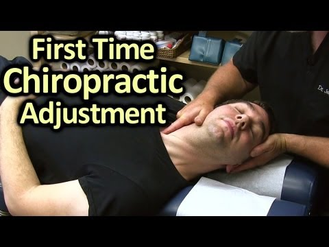 Adjustments - Friend us @ https://www.facebook.com/psychetruthv... First Time Chiropractor Neck & Back Adjustment Demonstration by Austin Chiropractic Care Dr. Echols is a...