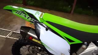 8. Kawasaki KX450F 2011 Akrapovic