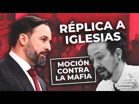 Abascal replica a Iglesias: 'Usted está inhabilitado para la política en una nación democrática'