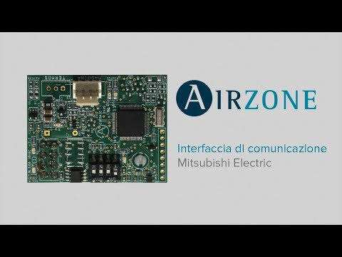 Installazione interfaccia di comunicazione Mitsubishi Electric