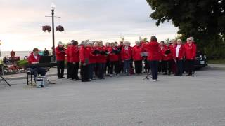 Southampton (ON) Canada  city photos gallery : Chantry Singers, Canada Day 2015, Southampton