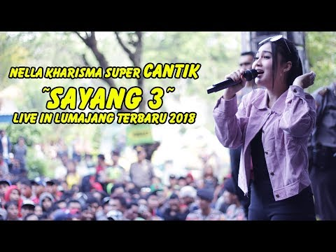 Video #Nella Kharisma CANTIK sekali - Sayang 3 Live in Lumajang Terbaru 2018 download in MP3, 3GP, MP4, WEBM, AVI, FLV January 2017