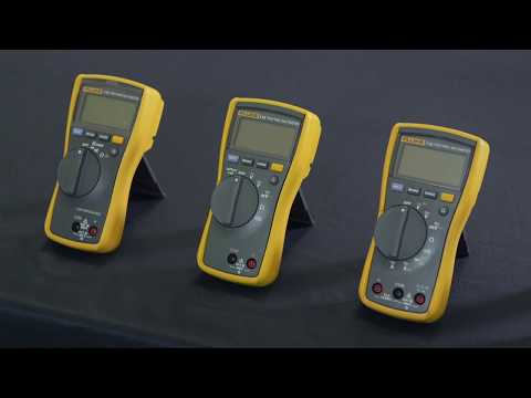 Learn which Fluke digital multimeter is the best one for you: working in Cat III environments