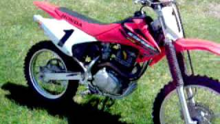 8. 2004 HONDA CRF 230F WALK AROUND AND RUNNING