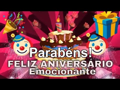 Imagens de feliz aniversário -  Linda Mensagem de Feliz aniversário   Birthday message for smartfhone - Pink Girls Game