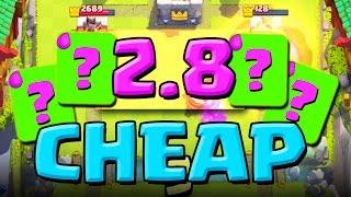 2.8 Elixir!?  :: Clash Royale :: THIS DECK IS AMAZING!