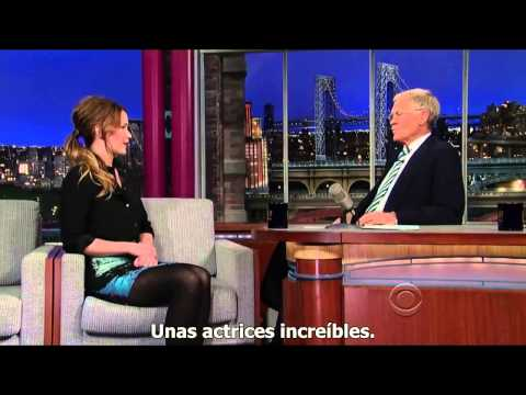 Entrevista Jennifer Lawrence & David Letterman HD Subtitulada Español