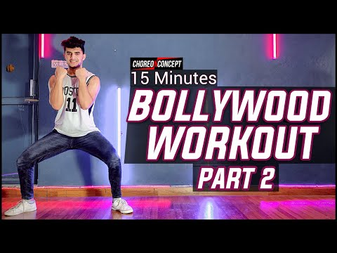 15 Minutes Bollywood Workout | Dance Workout For Beginners & Advance | Choreo N Concept