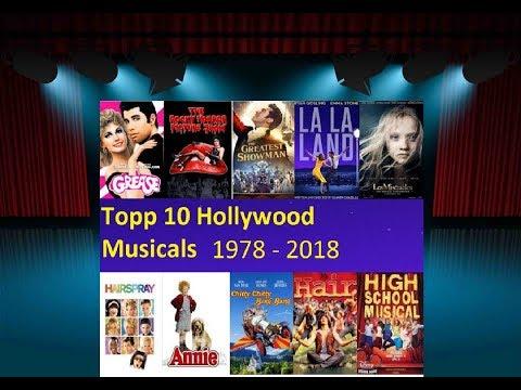 Topp 10 Hollywood Musikaler - Skont topp 10
